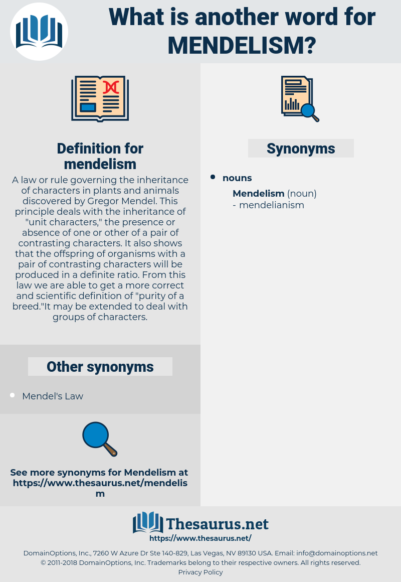 mendelism, synonym mendelism, another word for mendelism, words like mendelism, thesaurus mendelism