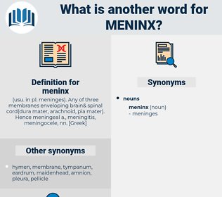 meninx, synonym meninx, another word for meninx, words like meninx, thesaurus meninx