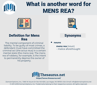 Mens Rea, synonym Mens Rea, another word for Mens Rea, words like Mens Rea, thesaurus Mens Rea