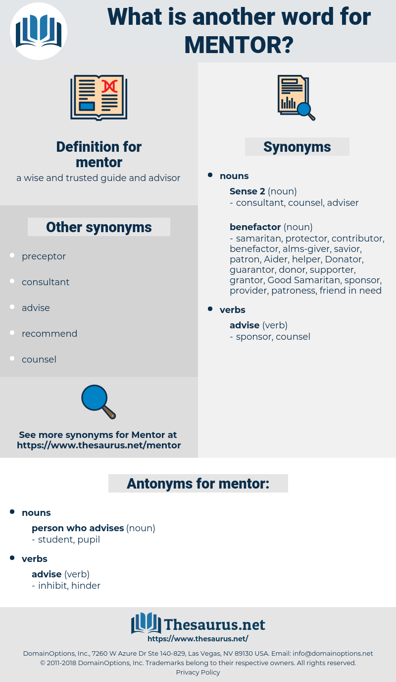 mentor, synonym mentor, another word for mentor, words like mentor, thesaurus mentor