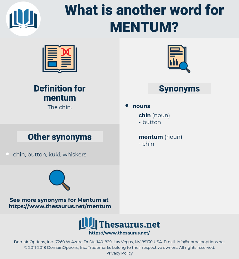 mentum, synonym mentum, another word for mentum, words like mentum, thesaurus mentum