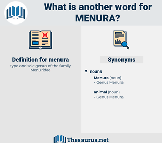 menura, synonym menura, another word for menura, words like menura, thesaurus menura