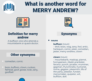 merry andrew, synonym merry andrew, another word for merry andrew, words like merry andrew, thesaurus merry andrew