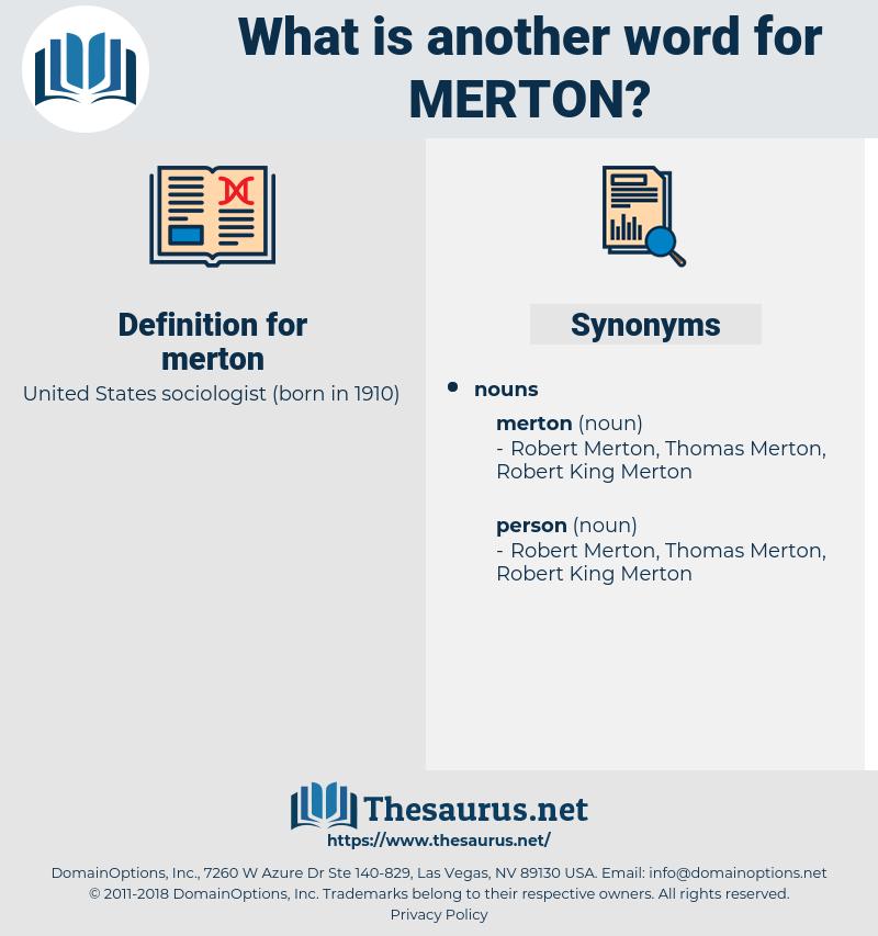 merton, synonym merton, another word for merton, words like merton, thesaurus merton