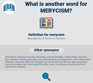 merycism, synonym merycism, another word for merycism, words like merycism, thesaurus merycism