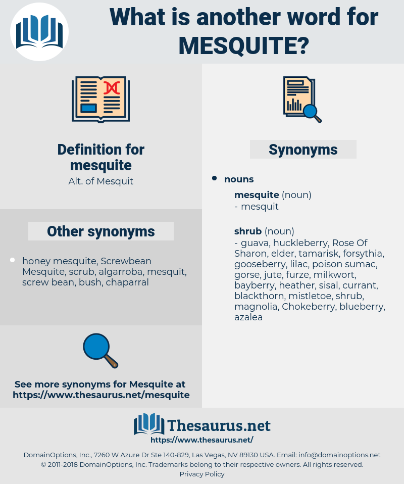 mesquite, synonym mesquite, another word for mesquite, words like mesquite, thesaurus mesquite