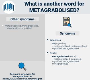 metagrabolised, synonym metagrabolised, another word for metagrabolised, words like metagrabolised, thesaurus metagrabolised