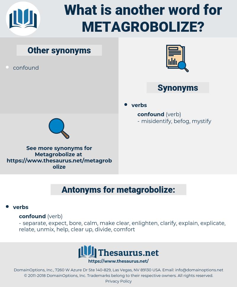 metagrobolize, synonym metagrobolize, another word for metagrobolize, words like metagrobolize, thesaurus metagrobolize