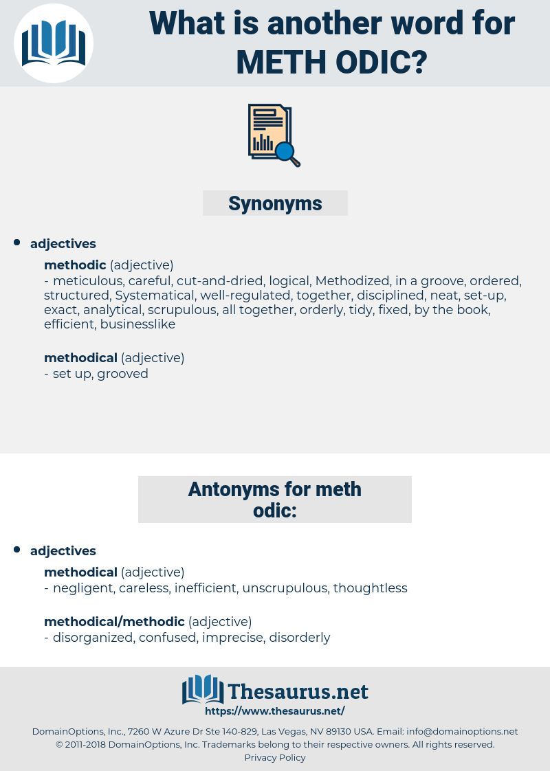 meth odic, synonym meth odic, another word for meth odic, words like meth odic, thesaurus meth odic