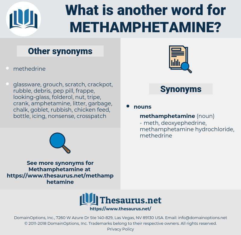 methamphetamine, synonym methamphetamine, another word for methamphetamine, words like methamphetamine, thesaurus methamphetamine