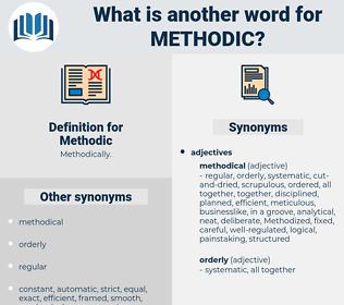 Methodic, synonym Methodic, another word for Methodic, words like Methodic, thesaurus Methodic