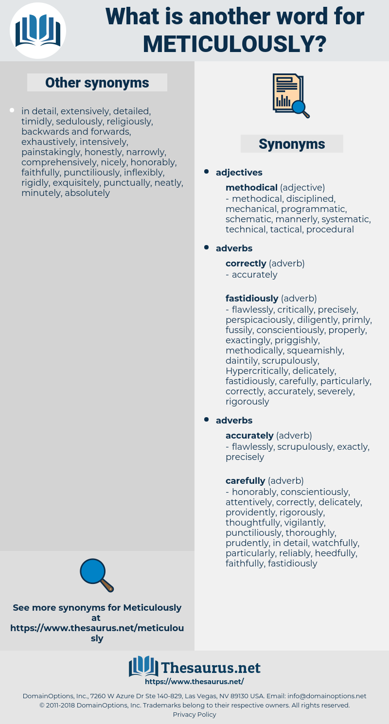 meticulously, synonym meticulously, another word for meticulously, words like meticulously, thesaurus meticulously