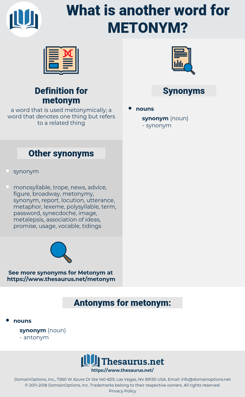 metonym, synonym metonym, another word for metonym, words like metonym, thesaurus metonym