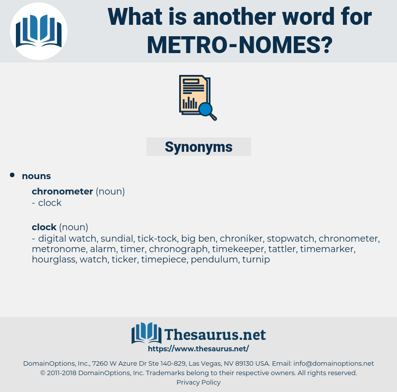 metro-nomes, synonym metro-nomes, another word for metro-nomes, words like metro-nomes, thesaurus metro-nomes