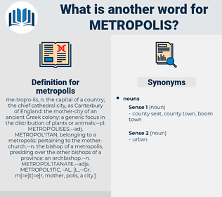 metropolis, synonym metropolis, another word for metropolis, words like metropolis, thesaurus metropolis