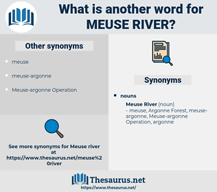 Meuse River, synonym Meuse River, another word for Meuse River, words like Meuse River, thesaurus Meuse River