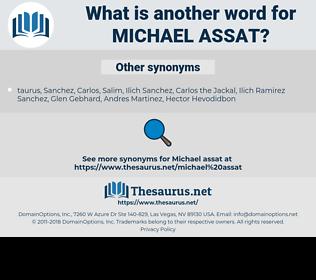 Michael Assat, synonym Michael Assat, another word for Michael Assat, words like Michael Assat, thesaurus Michael Assat