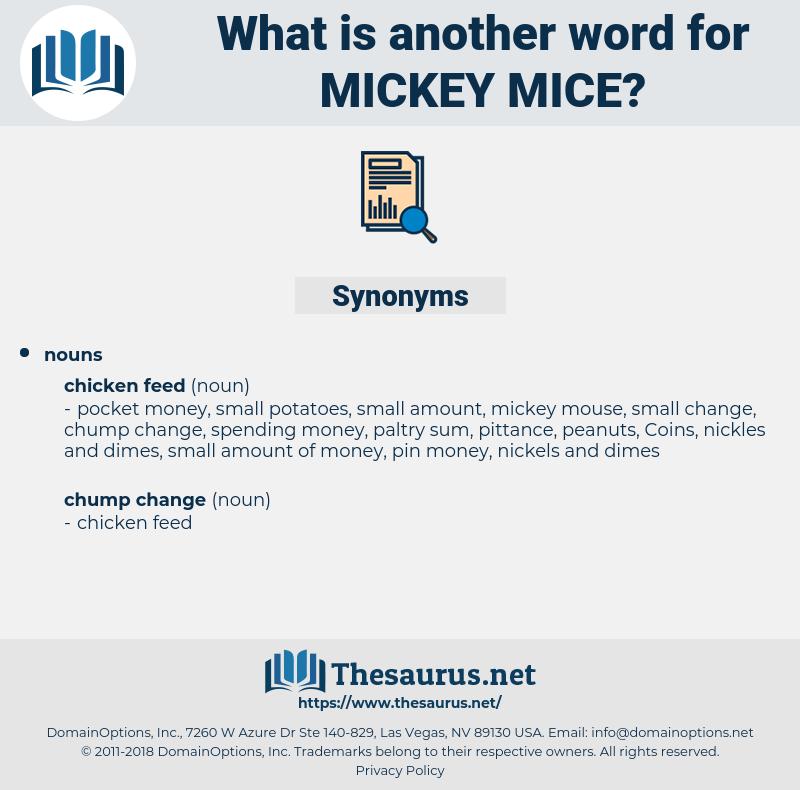mickey mice, synonym mickey mice, another word for mickey mice, words like mickey mice, thesaurus mickey mice