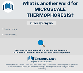 microscale thermophoresis, synonym microscale thermophoresis, another word for microscale thermophoresis, words like microscale thermophoresis, thesaurus microscale thermophoresis