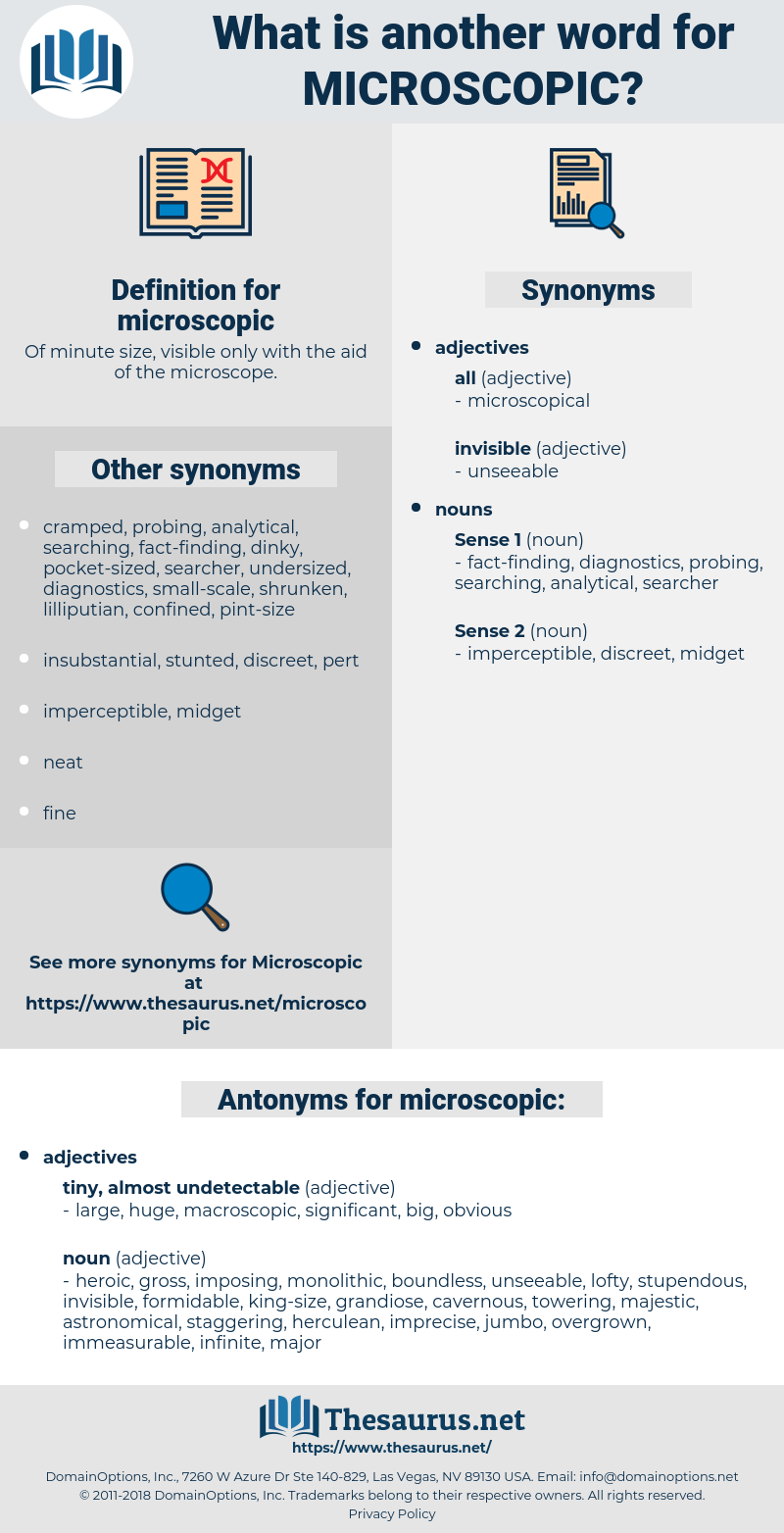 microscopic, synonym microscopic, another word for microscopic, words like microscopic, thesaurus microscopic