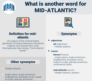mid-atlantic, synonym mid-atlantic, another word for mid-atlantic, words like mid-atlantic, thesaurus mid-atlantic
