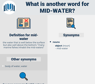mid-water, synonym mid-water, another word for mid-water, words like mid-water, thesaurus mid-water