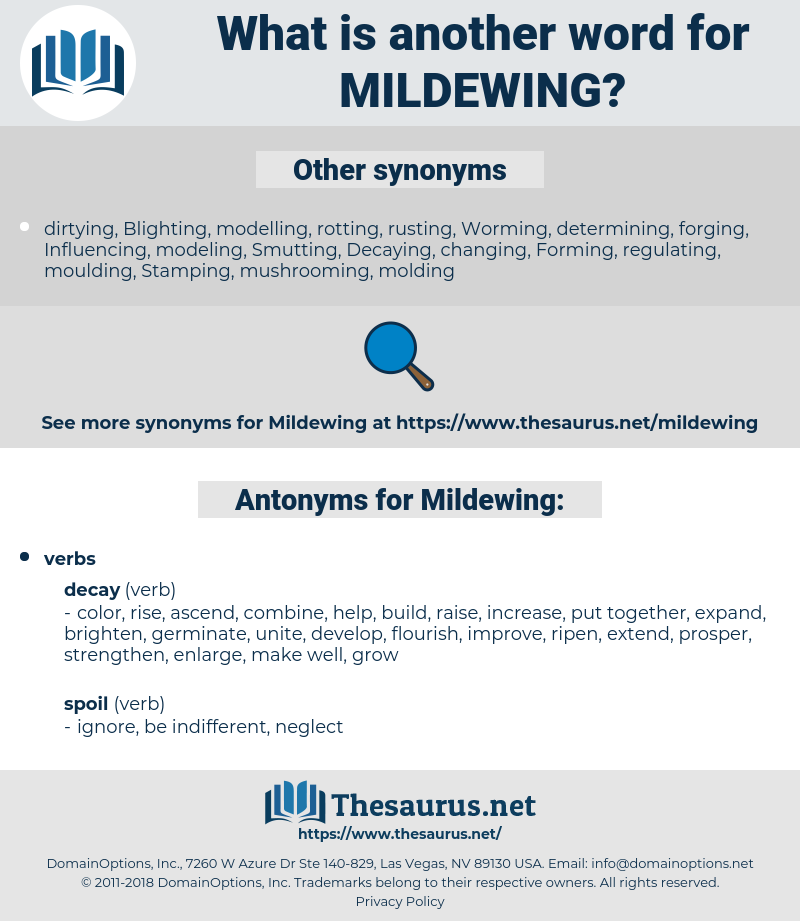 Mildewing, synonym Mildewing, another word for Mildewing, words like Mildewing, thesaurus Mildewing