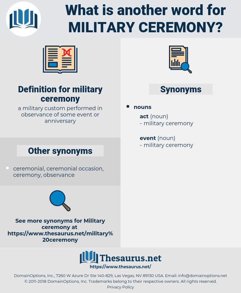 military ceremony, synonym military ceremony, another word for military ceremony, words like military ceremony, thesaurus military ceremony