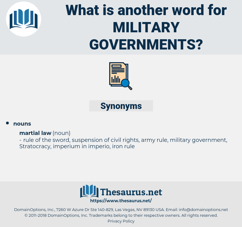 military governments, synonym military governments, another word for military governments, words like military governments, thesaurus military governments