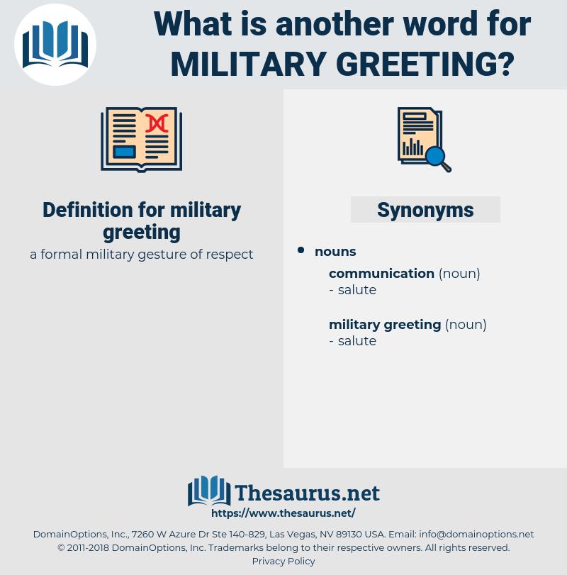 military greeting, synonym military greeting, another word for military greeting, words like military greeting, thesaurus military greeting
