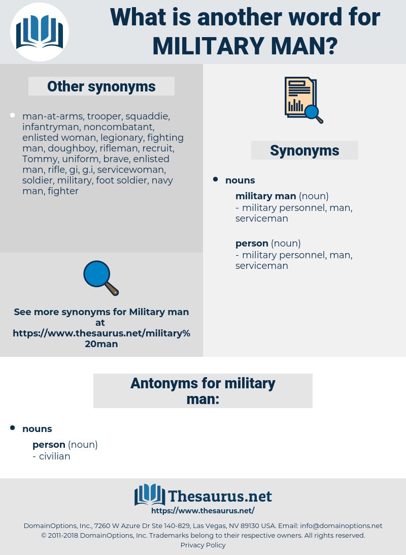 military man, synonym military man, another word for military man, words like military man, thesaurus military man