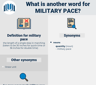 military pace, synonym military pace, another word for military pace, words like military pace, thesaurus military pace
