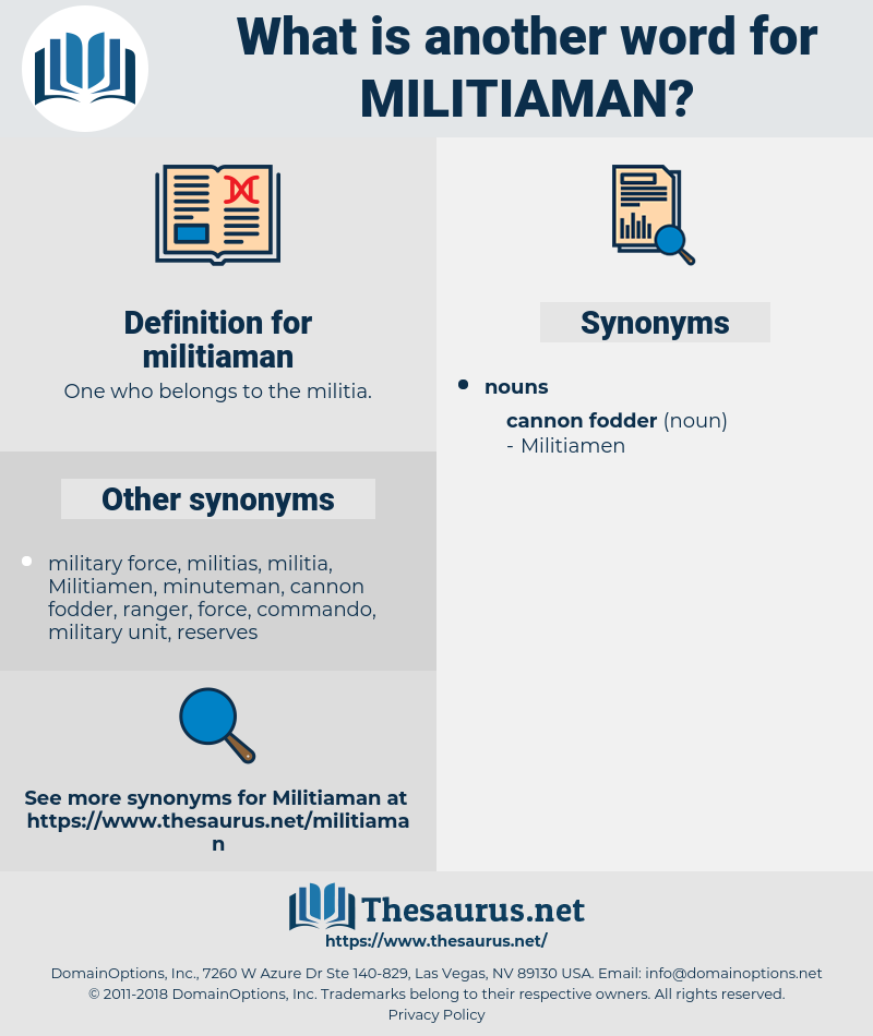militiaman, synonym militiaman, another word for militiaman, words like militiaman, thesaurus militiaman