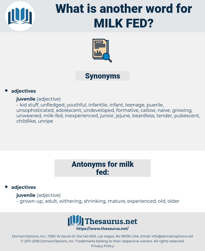 milk-fed, synonym milk-fed, another word for milk-fed, words like milk-fed, thesaurus milk-fed