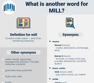 mill, synonym mill, another word for mill, words like mill, thesaurus mill