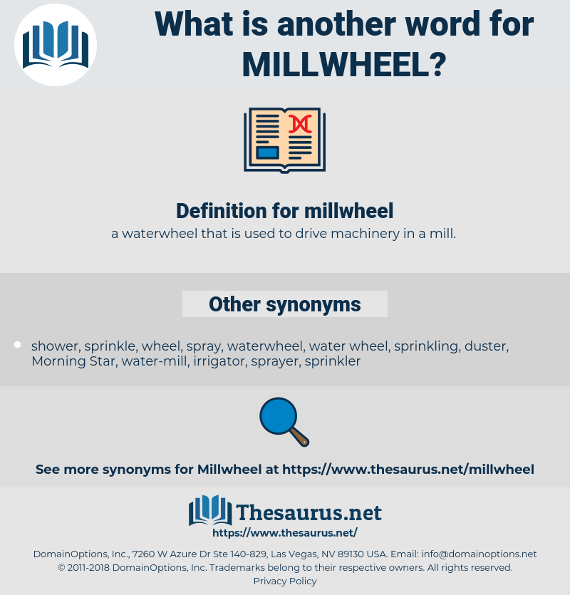 millwheel, synonym millwheel, another word for millwheel, words like millwheel, thesaurus millwheel