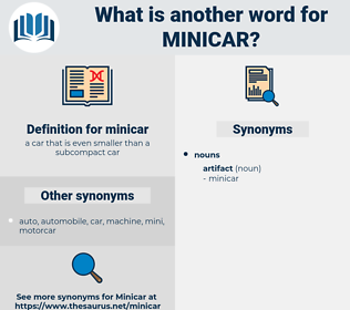 minicar, synonym minicar, another word for minicar, words like minicar, thesaurus minicar