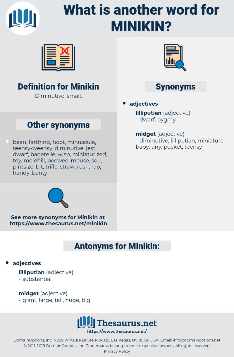 Minikin, synonym Minikin, another word for Minikin, words like Minikin, thesaurus Minikin