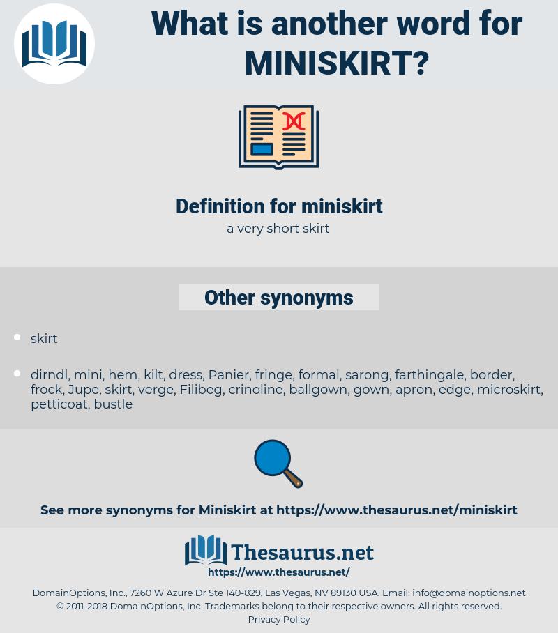 miniskirt, synonym miniskirt, another word for miniskirt, words like miniskirt, thesaurus miniskirt
