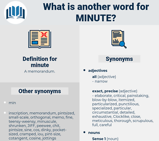 minute, synonym minute, another word for minute, words like minute, thesaurus minute