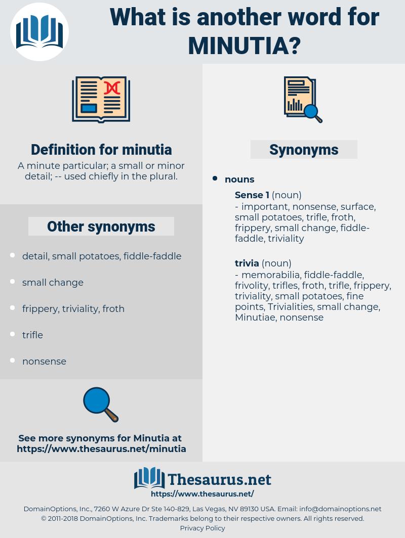 minutia, synonym minutia, another word for minutia, words like minutia, thesaurus minutia
