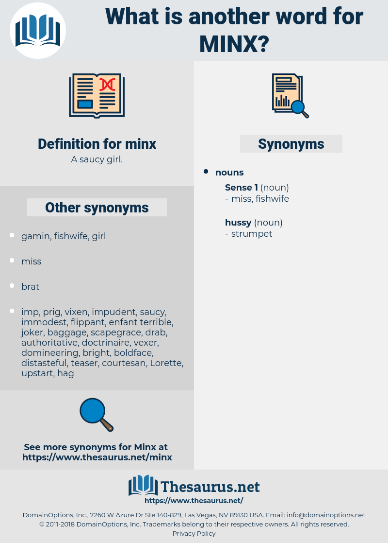 minx, synonym minx, another word for minx, words like minx, thesaurus minx