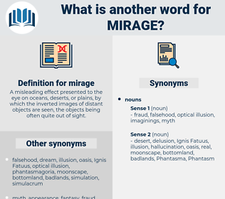 mirage, synonym mirage, another word for mirage, words like mirage, thesaurus mirage
