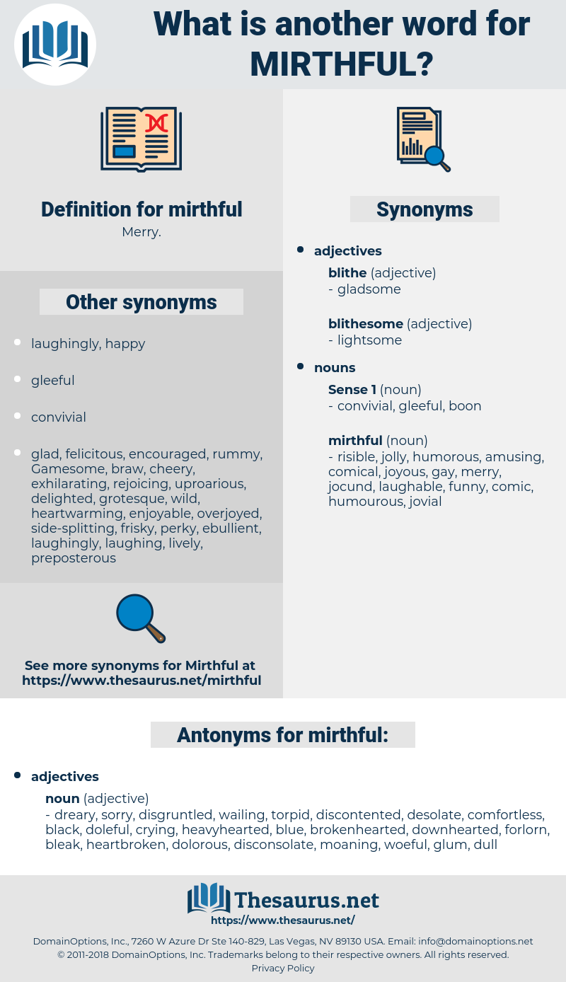 mirthful, synonym mirthful, another word for mirthful, words like mirthful, thesaurus mirthful