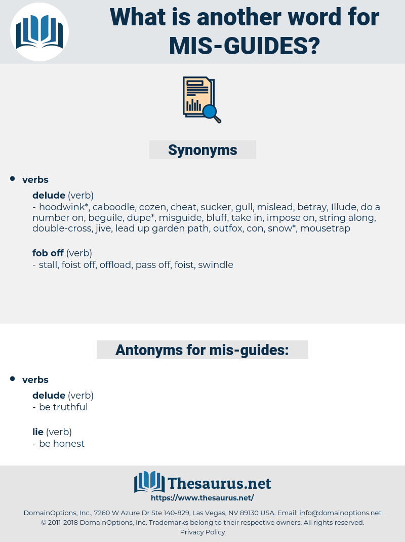 mis guides, synonym mis guides, another word for mis guides, words like mis guides, thesaurus mis guides