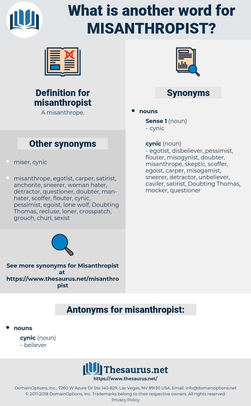 misanthropist, synonym misanthropist, another word for misanthropist, words like misanthropist, thesaurus misanthropist