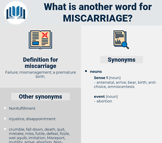 miscarriage, synonym miscarriage, another word for miscarriage, words like miscarriage, thesaurus miscarriage