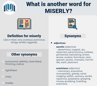 miserly, synonym miserly, another word for miserly, words like miserly, thesaurus miserly