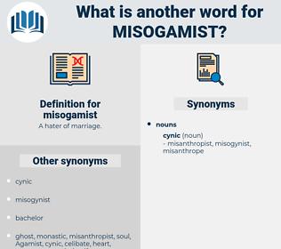 misogamist, synonym misogamist, another word for misogamist, words like misogamist, thesaurus misogamist