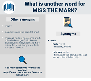 miss the mark, synonym miss the mark, another word for miss the mark, words like miss the mark, thesaurus miss the mark